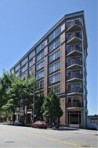 The Pomeroy is the recognized triangle building in Belltown