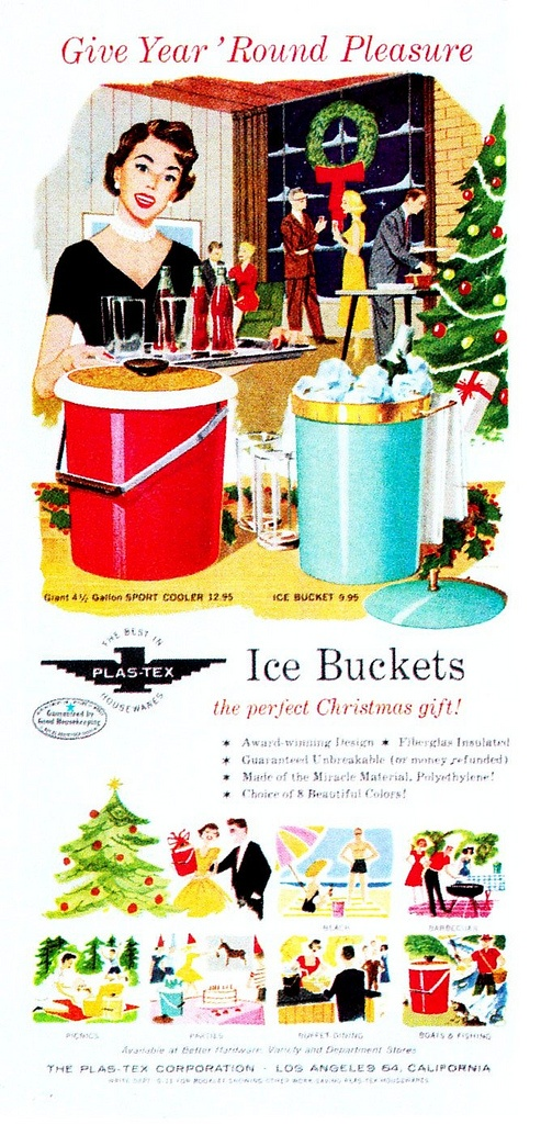 Christmas Ice Bucket ad