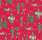 Vintage Christmas Gift Wrap: If Only…