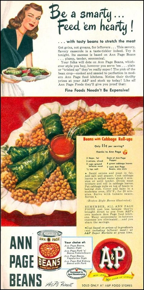 Ann Page beans