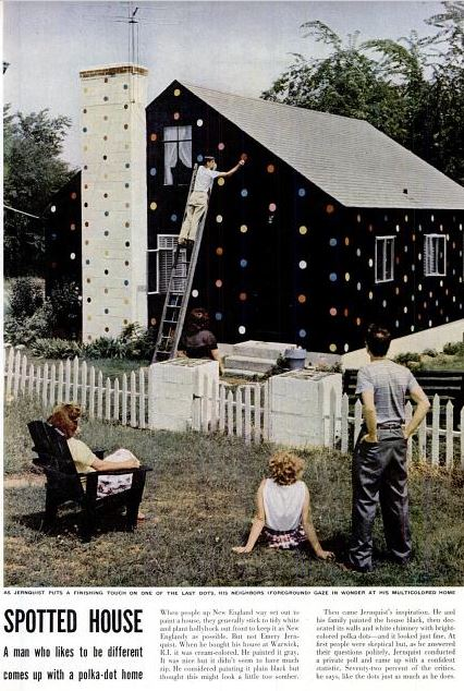 polka dot house LIFE Magazine