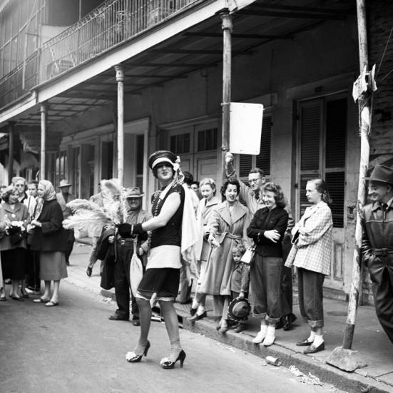 1950s mardi gras