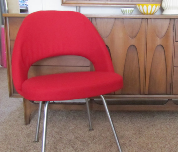 Vintage Knoll Side Chair