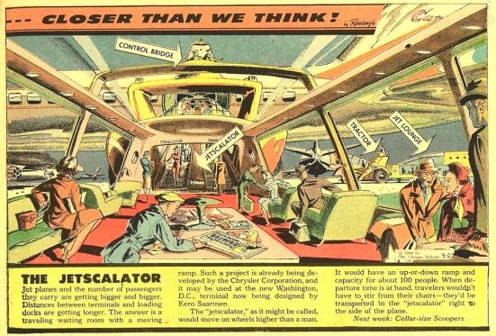 Jetscalator by Radebaugh, 1960  Image: x-ray delta one via flickr